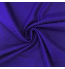 Wool Coat Fabric KW02 - cobalt blue