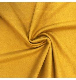 Tissu de manteau en laine KW03 - jaune