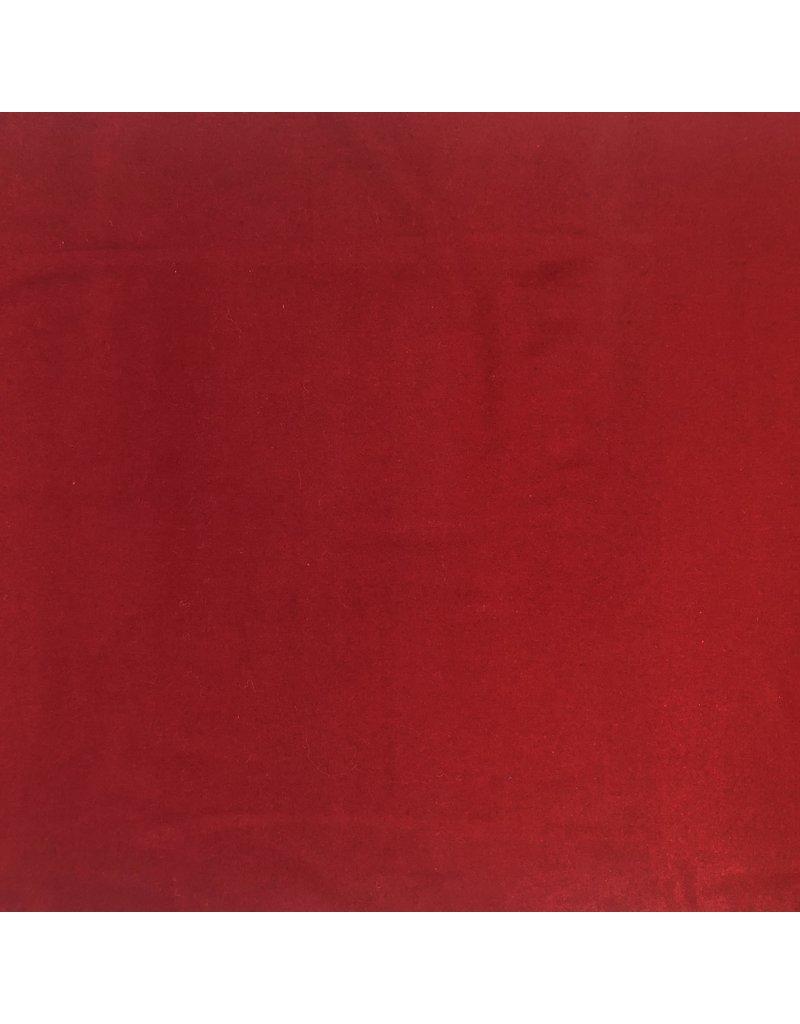 Wollmantel Stoff KW04 - rot