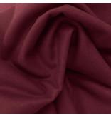 Wollen Mantel Stof KW05 - bordeaux