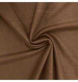 Tissu de manteau en laine KW08 - caramel