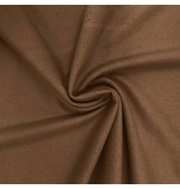Wool Coat Fabric KW08 - caramel
