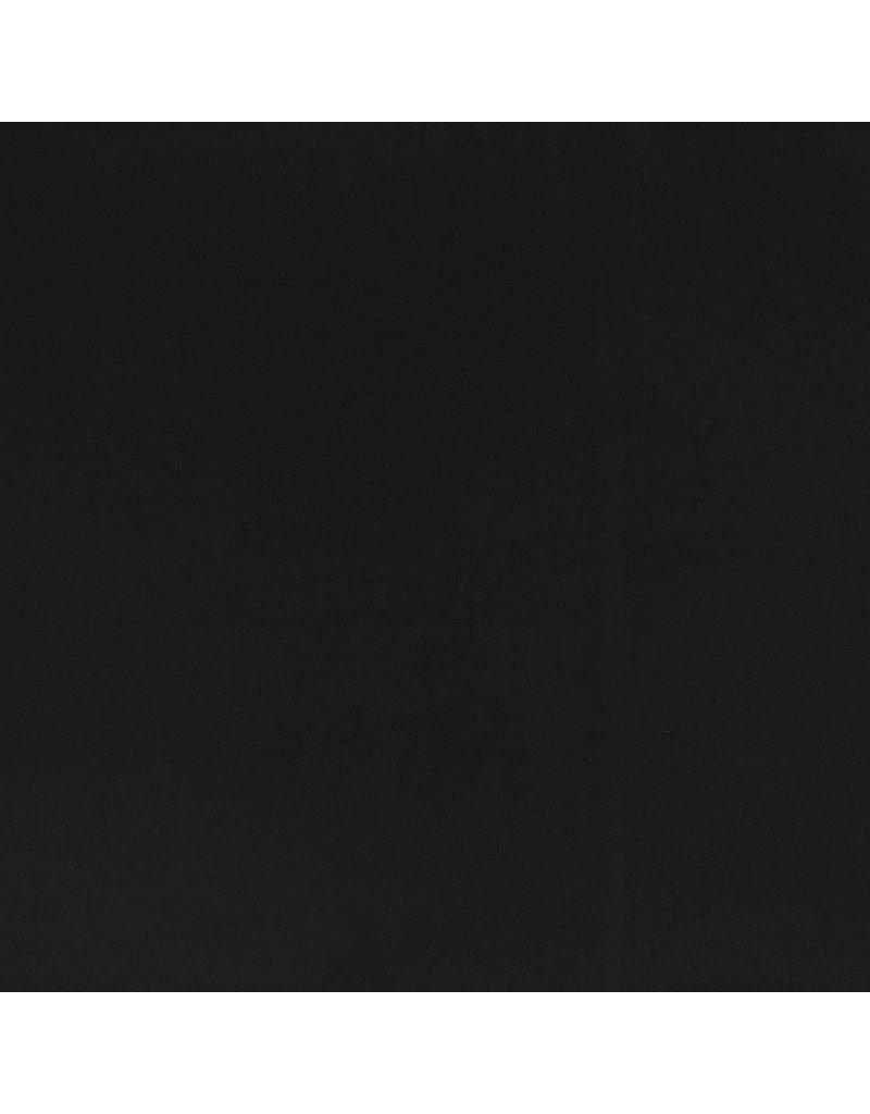 Wollmantel Stoff KW10 - schwarz