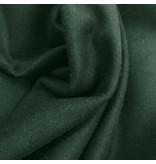 Wollen Mantel Stof KW12 - flessen groen