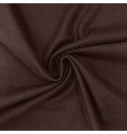 Tissu de manteau en laine KW13 - marron