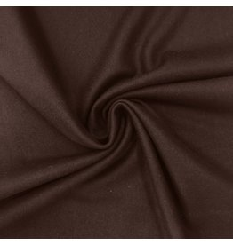 Wool Coat Fabric KW13 - brown