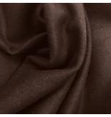Wollen Mantel Stof KW13 - bruin