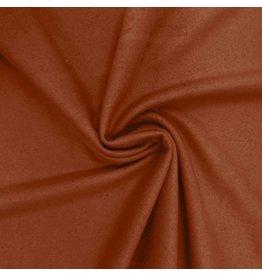 Tissu de manteau en laine KW15 - brique