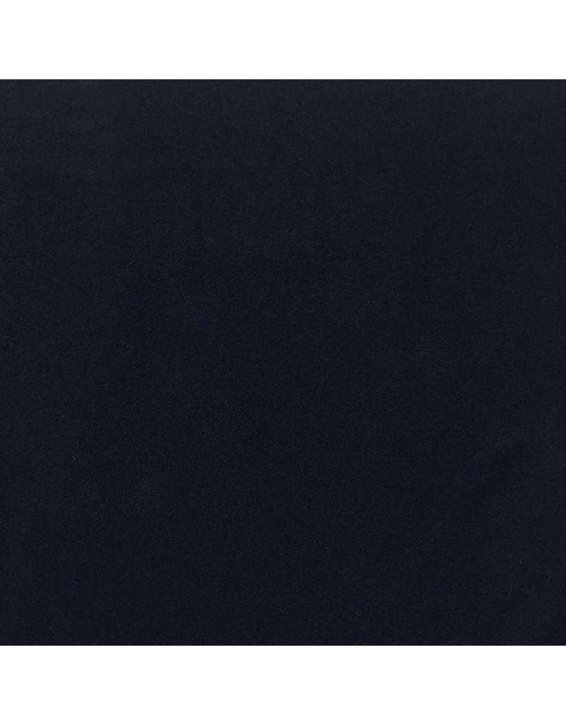 Wollmantelstoff KW16 - dunkelblau