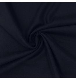 Tissu de manteau en laine KW16 - bleu foncé