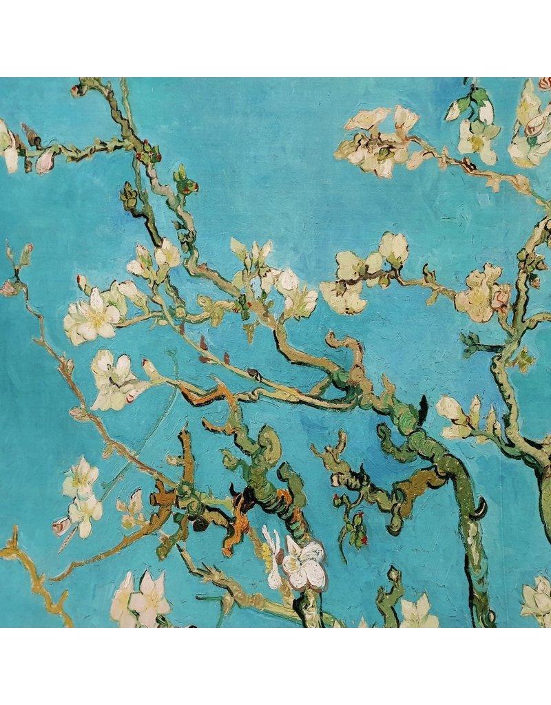 Jersey jet d'encre 2437 - Van Gogh / Fleur d'amandier