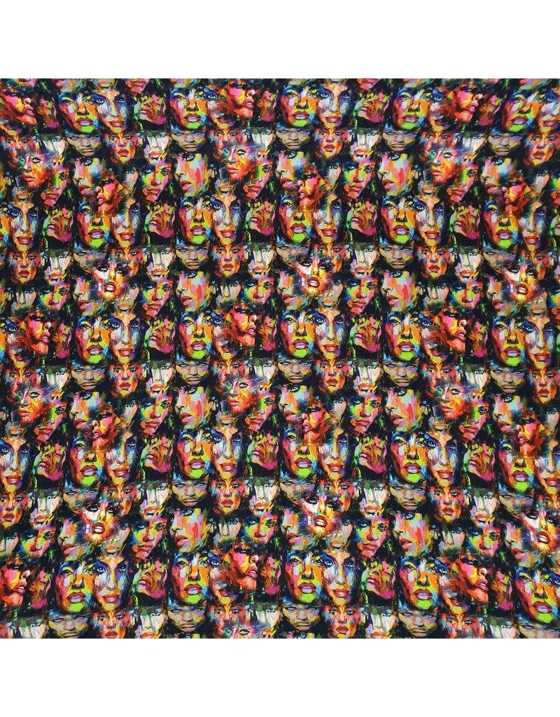 Jersey de dessin en bambou - 2441