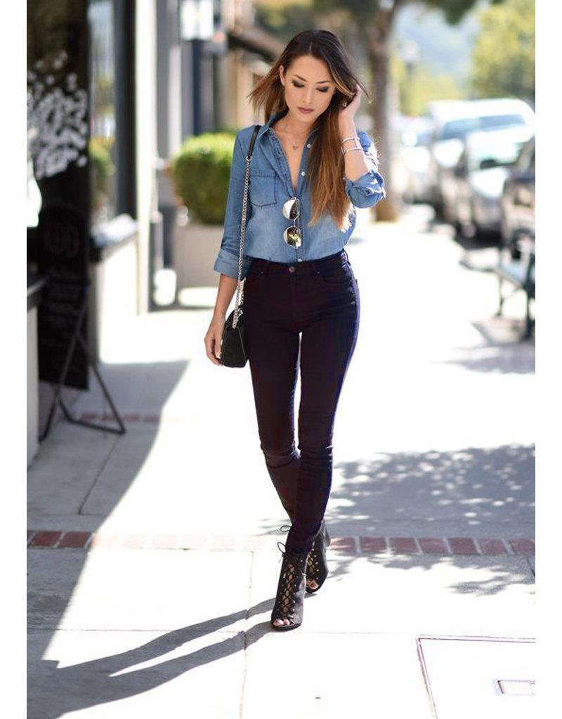 Stretch Jeans JE26 - nachtblauw