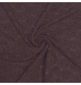 Lace with Sequins KG13 - purple