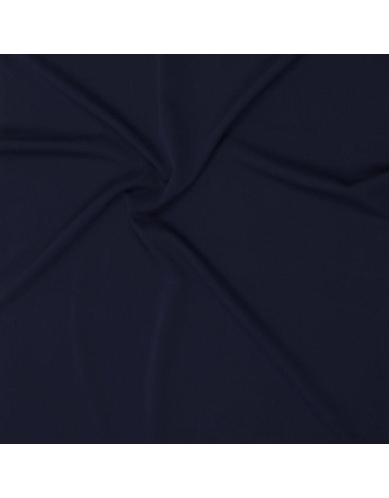 Gabardine Terlenka Stretch (zwaar)  WT54 - marine blauw