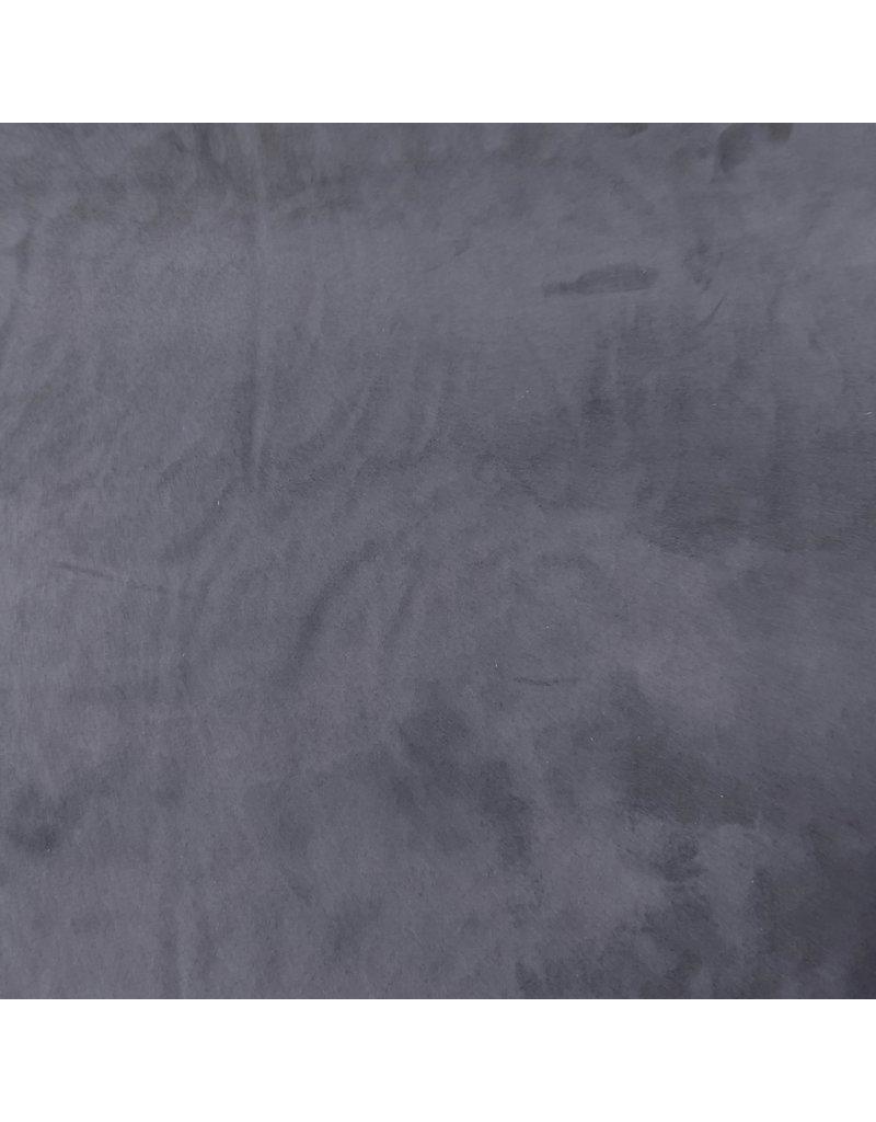 Wildleder Stretch SU01 - Stahlblau