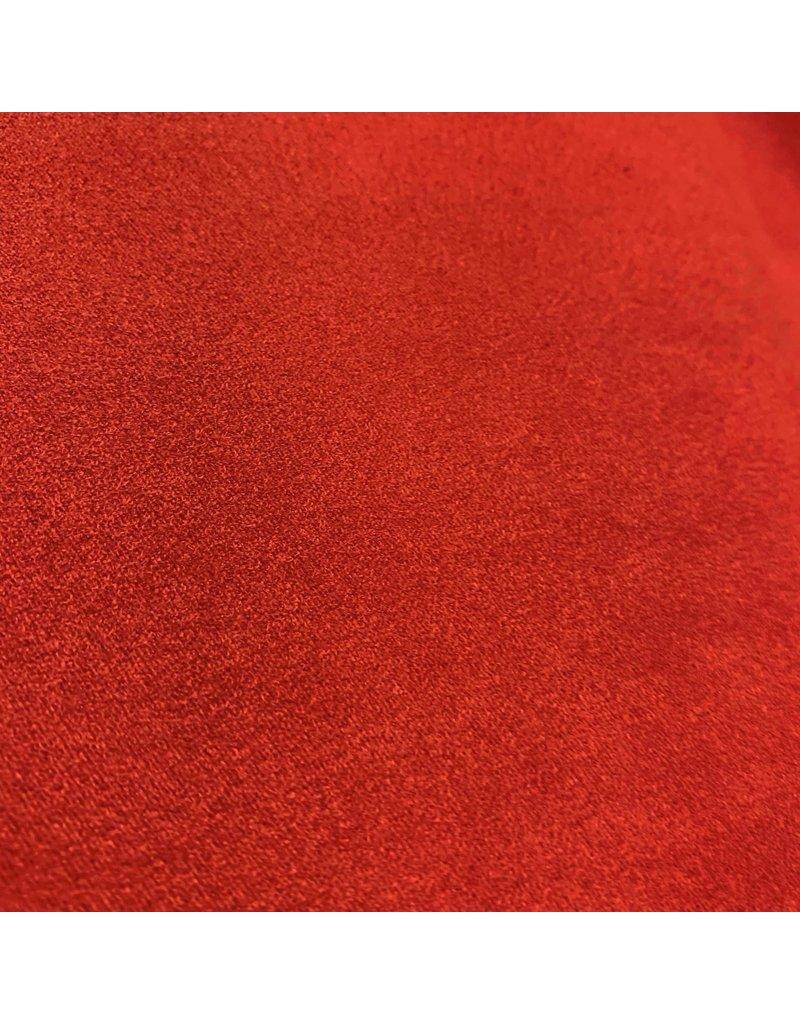 Suedine Stretch SU08 - leuchtend rot