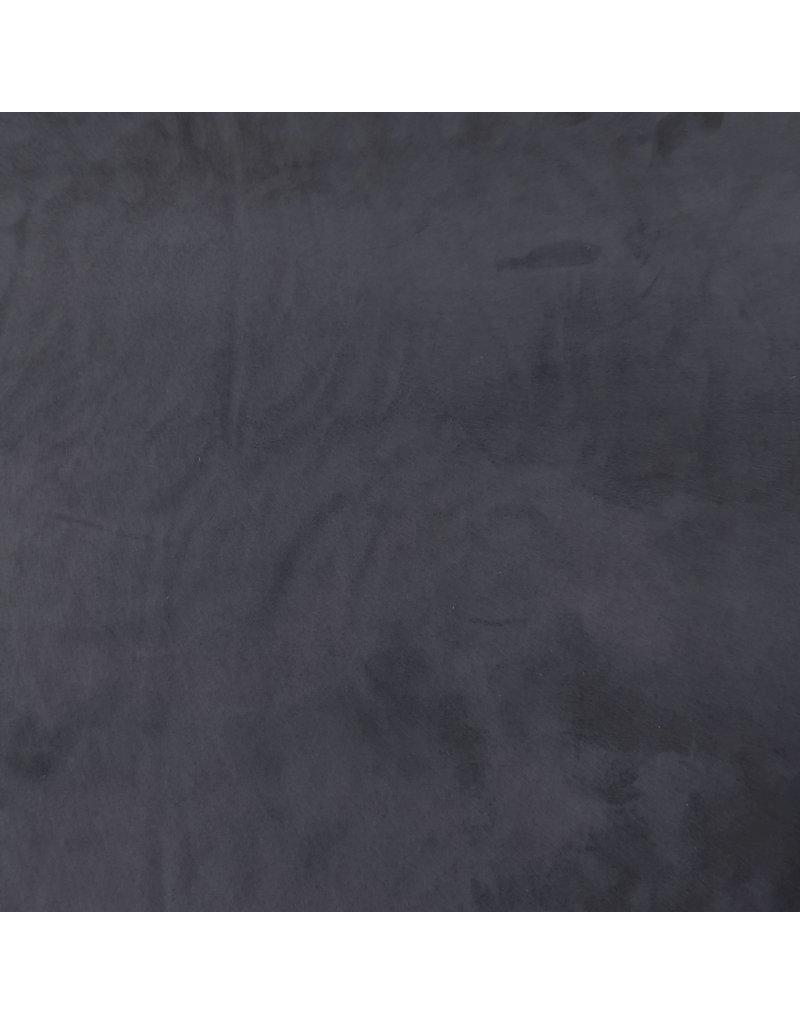 Suedine Stretch SU09 - marine blauw