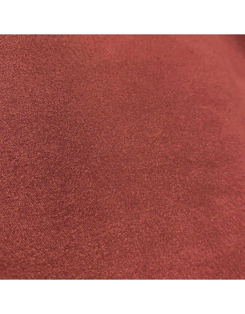 Suedine Stretch SU10 - koraal rood