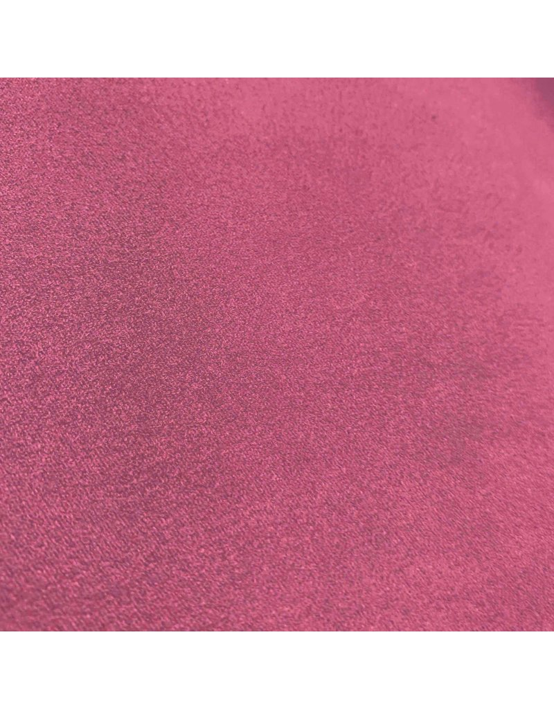 Suedine Stretch SU25 - dunkle Fuchsie