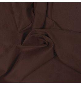 Suedine Stretch SU26 - marron marron