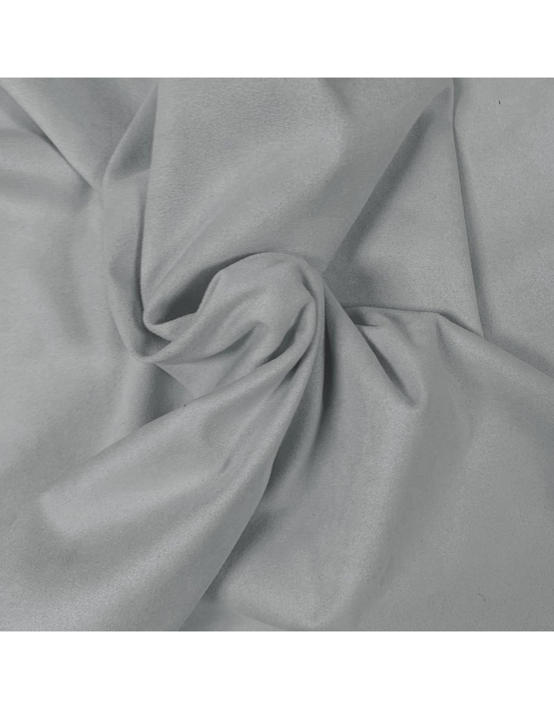 Suedine Stretch SU29 - licht grijs