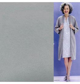 Suedine Stretch SU29 - light gray