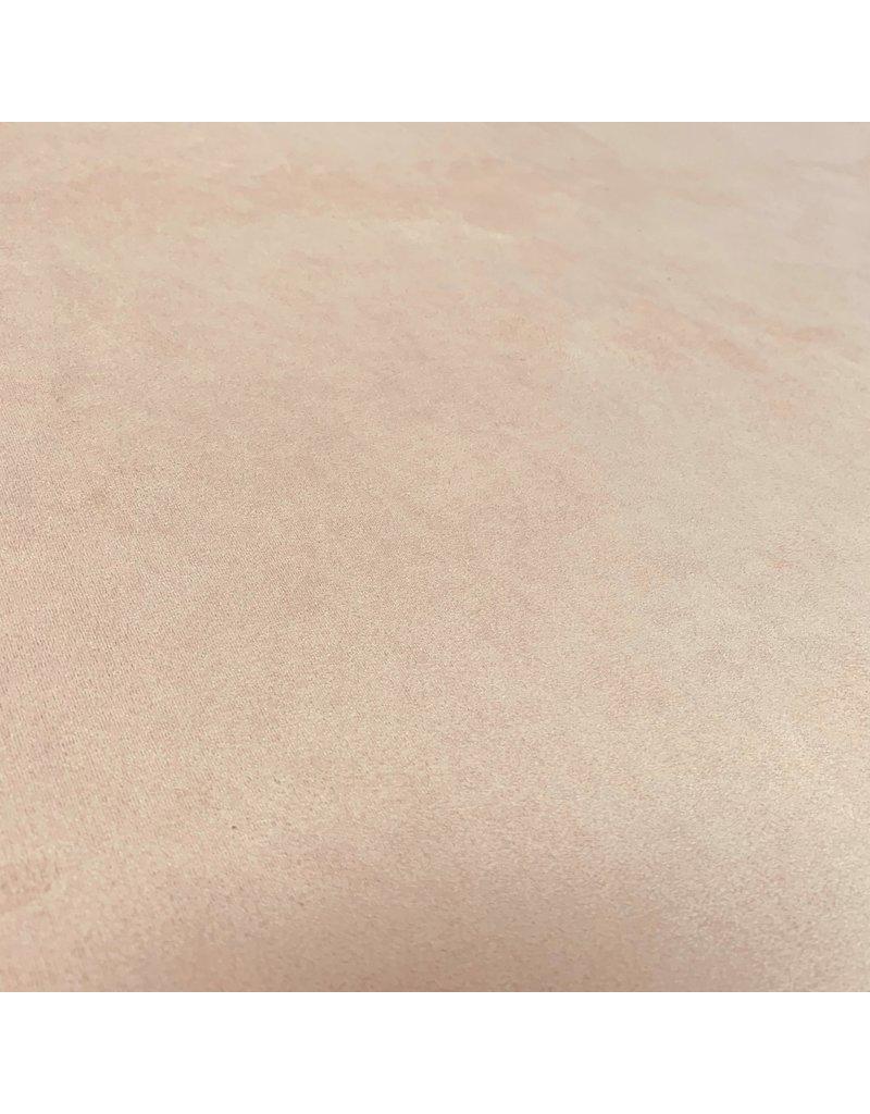 Suedine Stretch SU30 - licht zalmroze