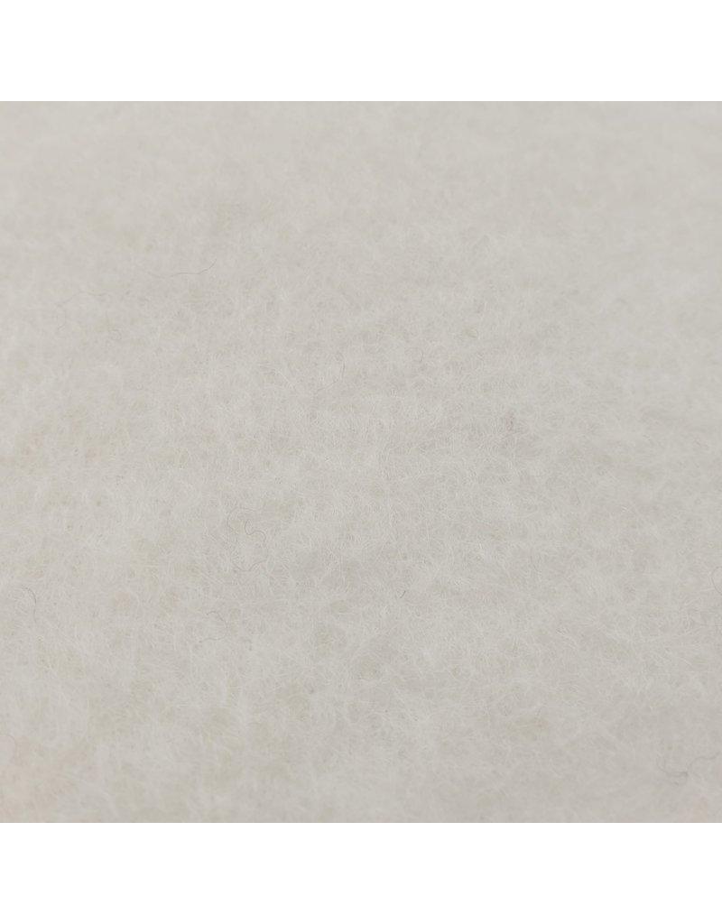 Gekochte Wolle Uni CW02 - Creme