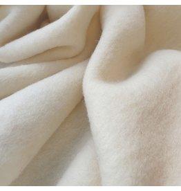 Gekookte Wol Uni CW02 - crème