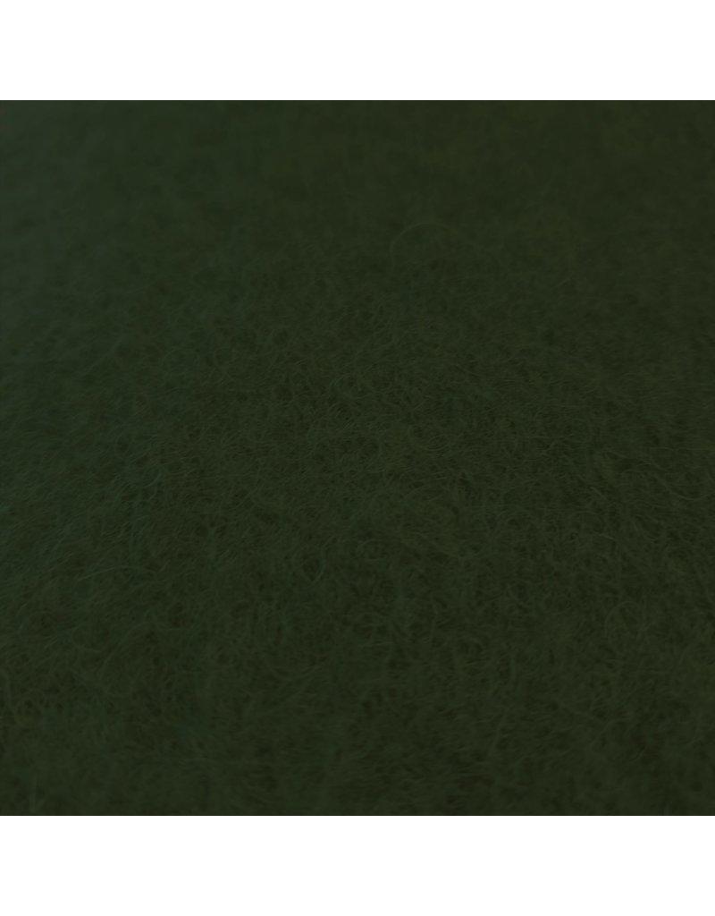 Gekochte Wolle Uni CW03 - olivgrün