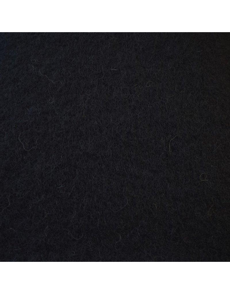 Gekookte Wol Uni CW04 - donkerblauw