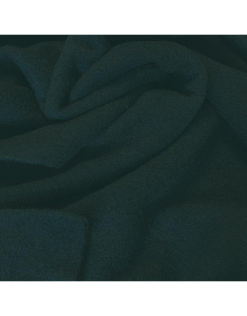 Gekochte Wolle Uni CW05 - dunkles Flaschengrün