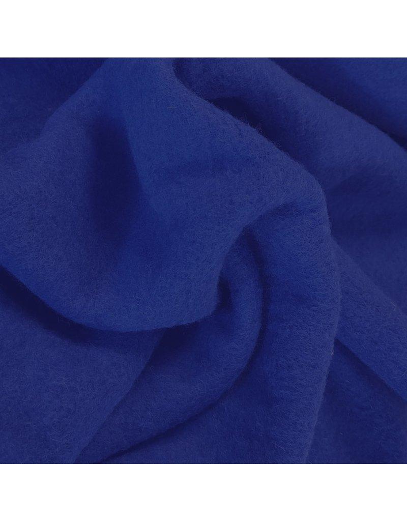 Laine bouillie Uni CW06 - bleu cobalt