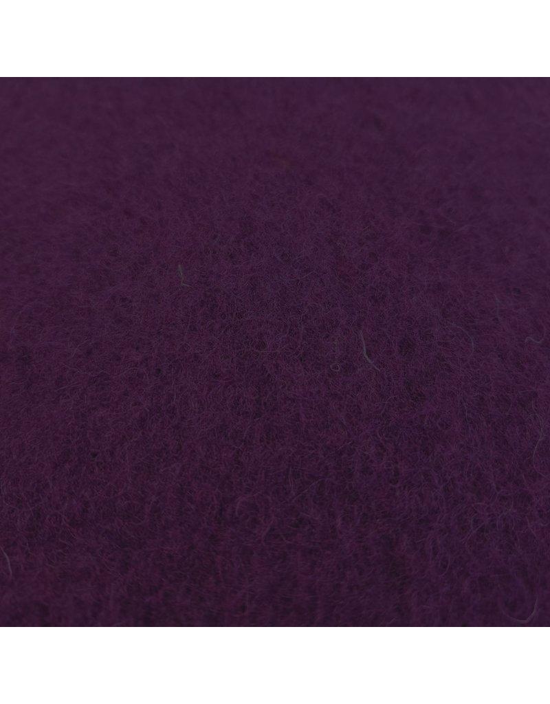 Gekookte Wol Uni CW12 - paars