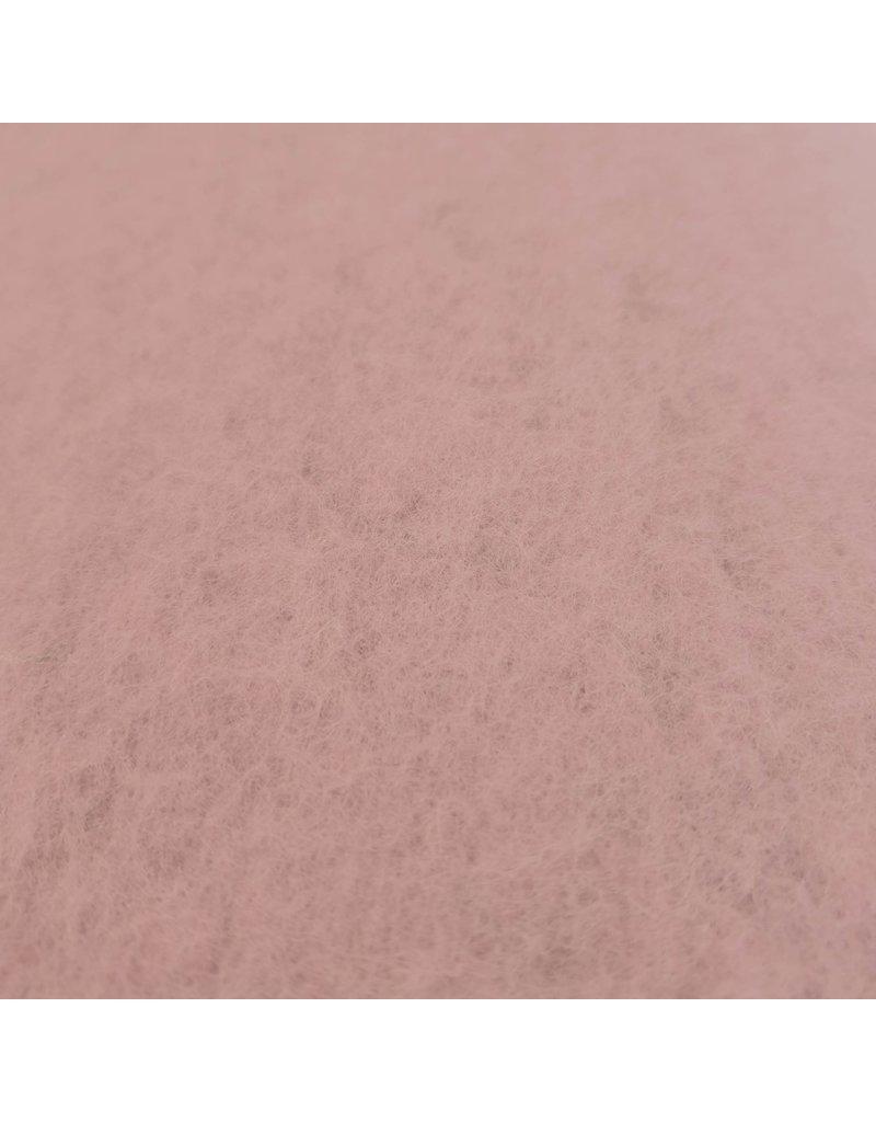 Laine bouillie Uni CW13 - rose tendre