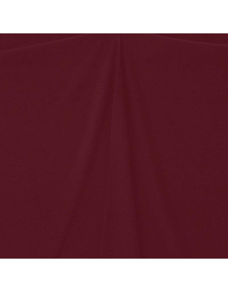 Gekochte Wolle Uni CW14 - dunkelrot