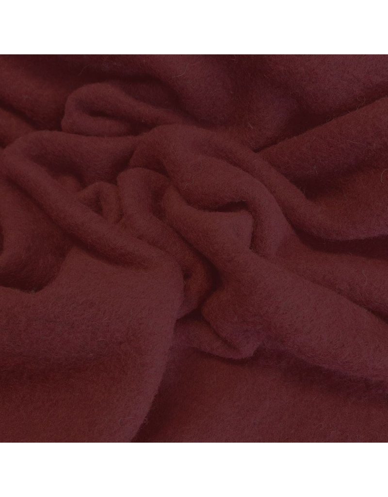 Cooked Wool Uni CW14 - dark red