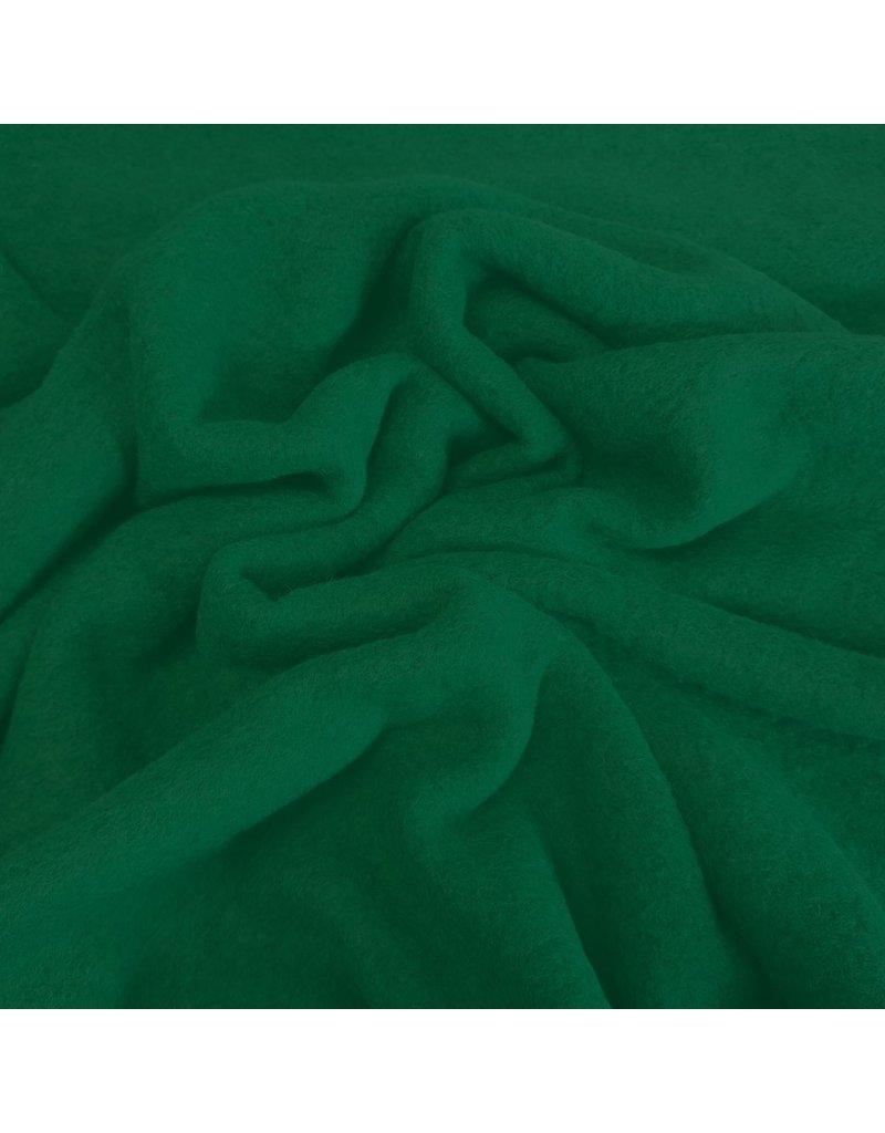 Gekochte Wolle Uni CW16 - smaragdgrün