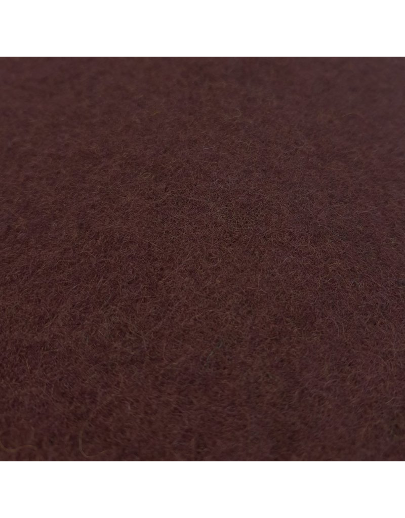 Cooked Wool Uni CW17 - bordeaux