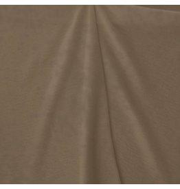 Gekookte Wol Uni CW18 - lichtbruin