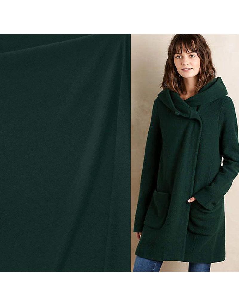 Cooked Wool Uni CW05 - dark bottle green