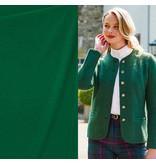 Gekookte Wol Uni CW16 - smaragd groen