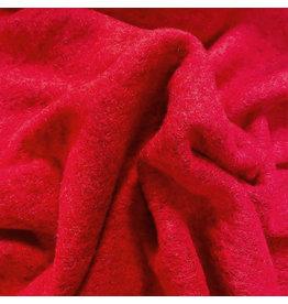 Gekookte Wol Uni CW21 - fel rood