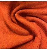 Gekookte Wol Uni CW22 - burnt orange