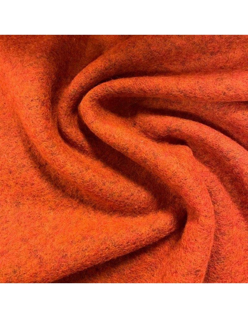 Gekochte Wolle Uni CW22 - burnt orange