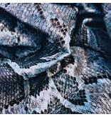Imitation Snake Leather SL01 - blue / aqua