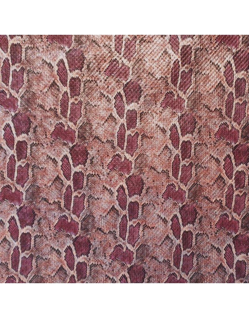 Imitation Snake Leather SL02 - red / pink