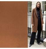 Wool Coat Fabric KW07 - camel