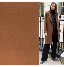 Tissu de manteau en laine KW07 - camel
